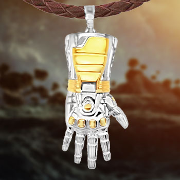 Stark Gauntlet Necklace Marvel Jewelry