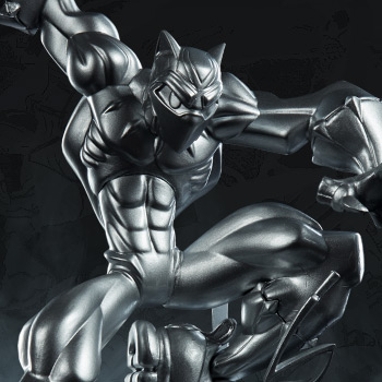 T'Challa (Vibranium Edition) Marvel Designer Collectible Toy
