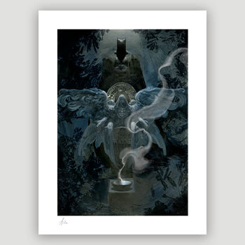 The Birth of Batman DC Comics Art Print