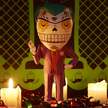 The Joker Calavera DC Comics Designer Collectible Toy