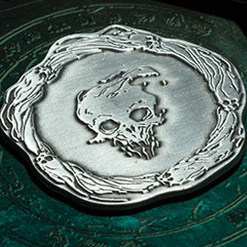 The Signet of Spirit Faction Court of the Dead Collectible Pin