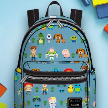 Toy Story Chibi Print Mini Backpack Disney Apparel