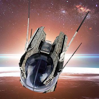 U.S.S. Discovery Landing Pod Star Trek Model