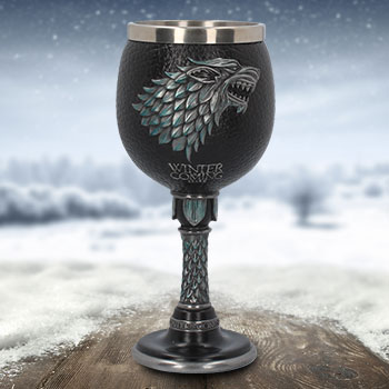 Winter is Coming Goblet Game of Thrones Collectible Drinkware