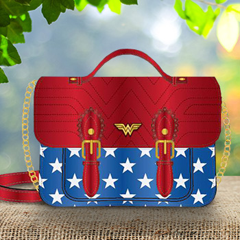 Wonder Woman Crossbody DC Comics Apparel