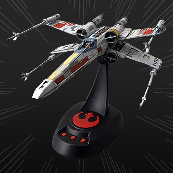 X-Wing Starfighter Moving Edition Plastic Model Star Wars Model Kit