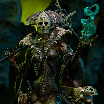 Xiall - Osteomancers Vision Court of the Dead Figure