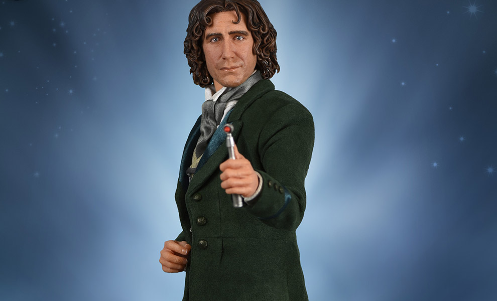 8th Doctor Who Sixth Scale Figure