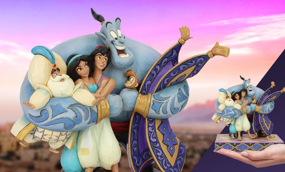 Aladdin Group Hug Disney Figurine