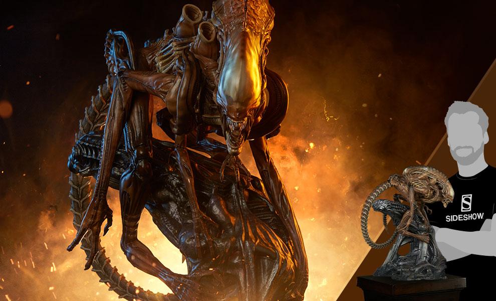 Alien Warrior - Mythos Alien Maquette