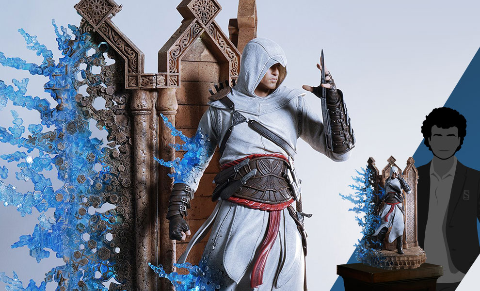 Animus Altair Assassins Creed Statue