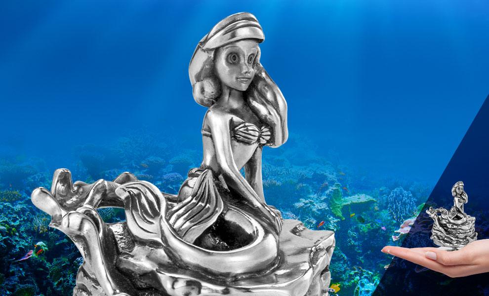 Ariel Music Carousel Disney Pewter Collectible