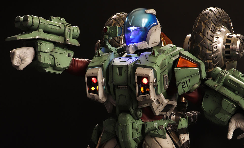 Armor Cyclone VR052F Scott Bernard Robotech Saga Statue