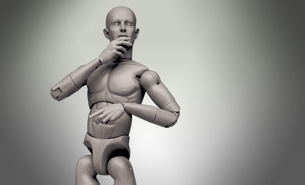 Artist Model Male Sixth Scale Figure