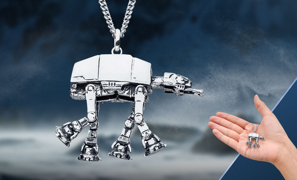 AT-AT Necklace Star Wars Jewelry