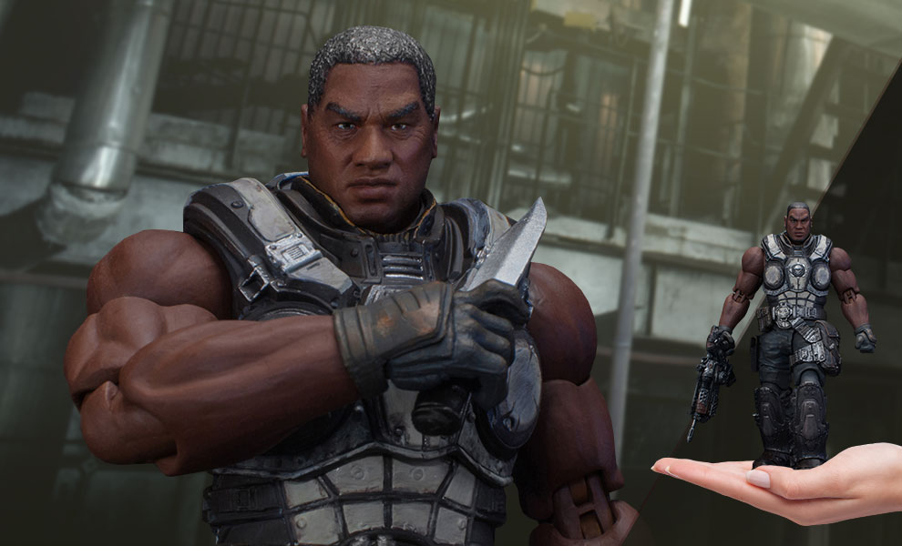 Augustus Cole Gears of War Collectible Figure