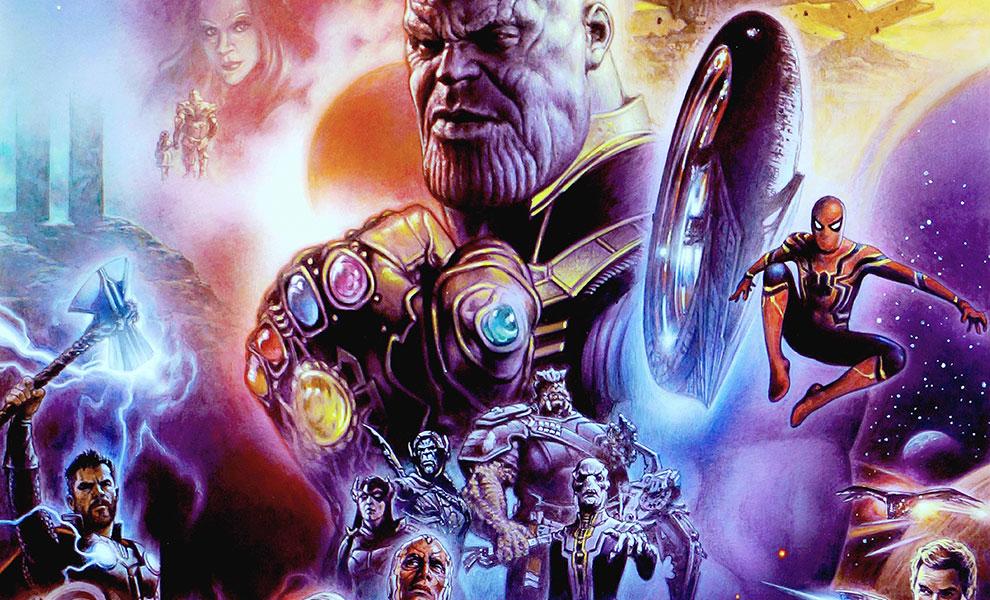 Avengers: Infinity War Marvel Art Print