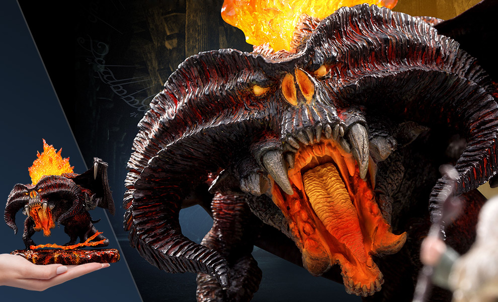 Balrog (Deluxe Version) The Lord of the Rings Vinyl Collectible