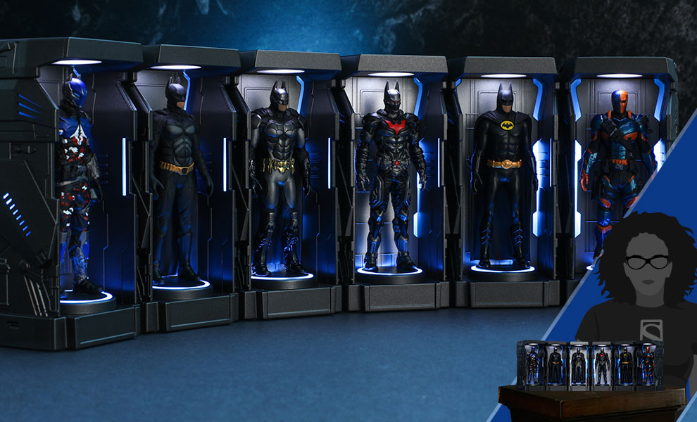 Batman: Arkham Knight Armory Miniature DC Comics Collectible Set
