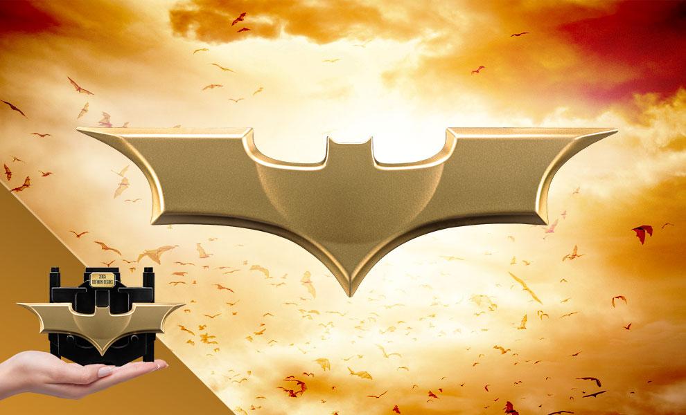 Batman Begins (2005) Metal Batarang DC Comics Replica