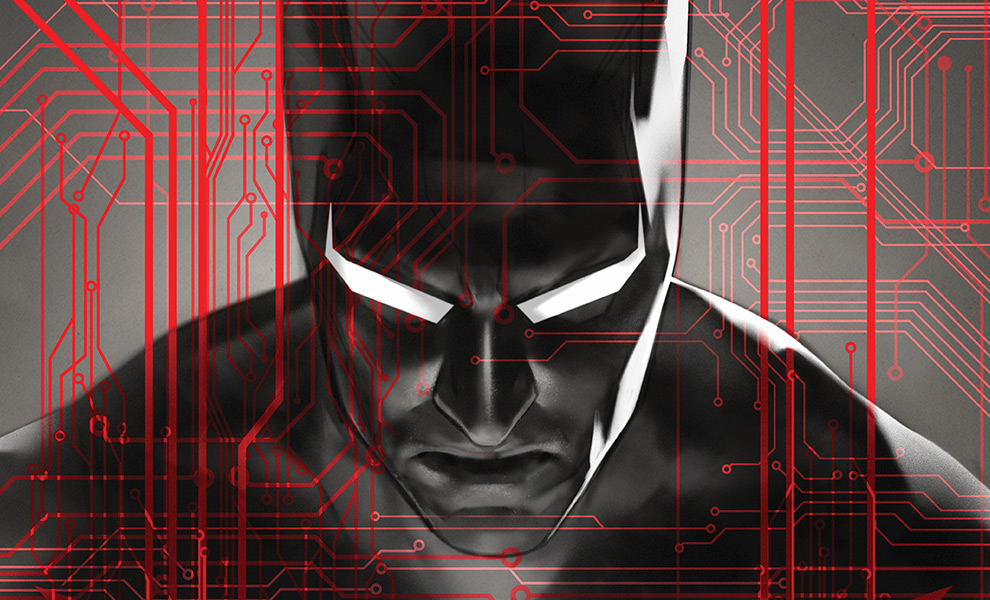 Batman Beyond DC Comics Art Print