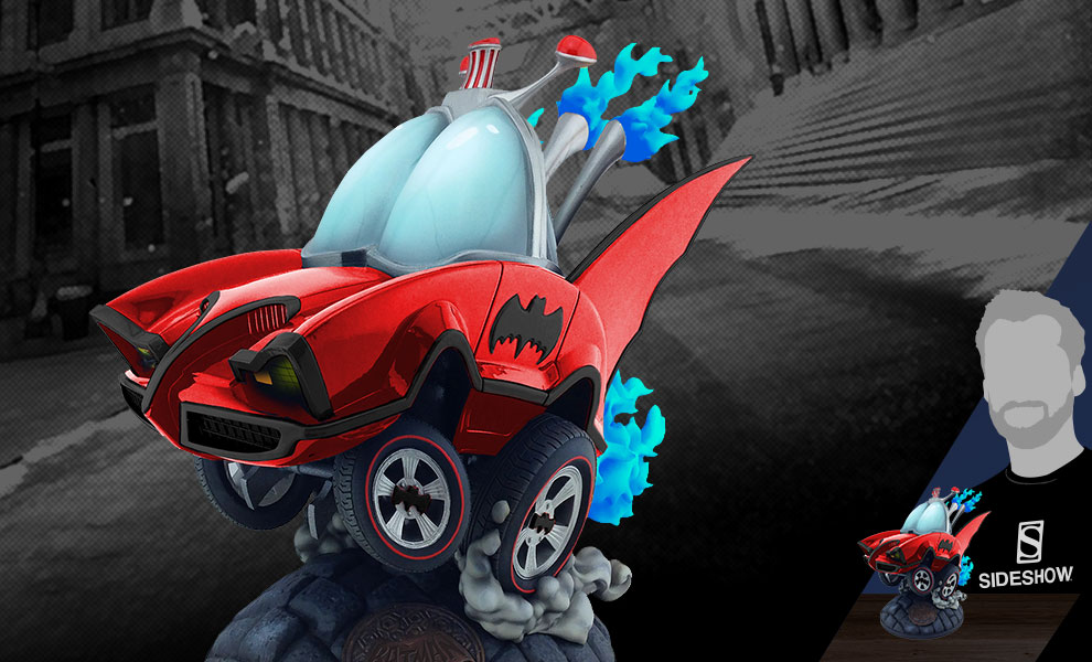 Batman Classic TV Series Batmobile (Red Variant) DC Comics Statue