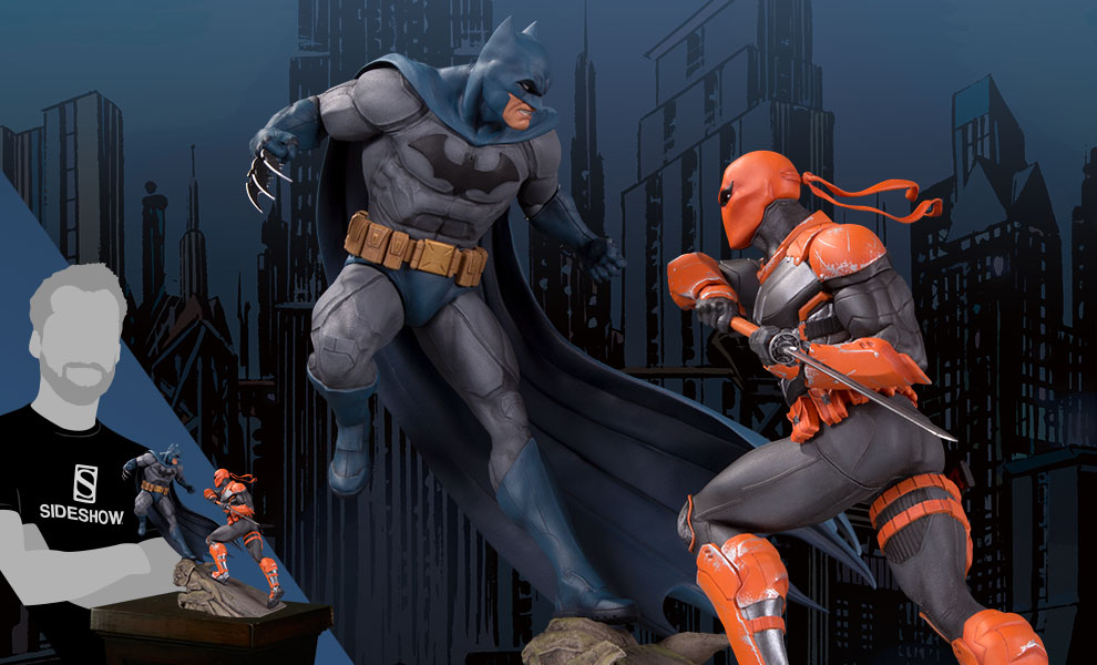 Batman VS Deathstroke DC Comics Statue