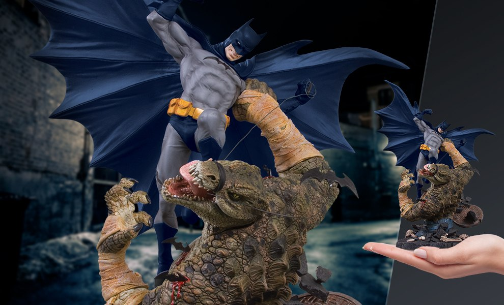 Batman VS Killer Croc DC Comics Statue
