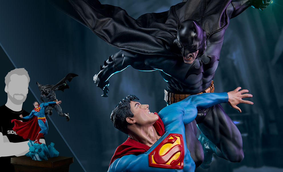 Batman vs Superman DC Comics Diorama
