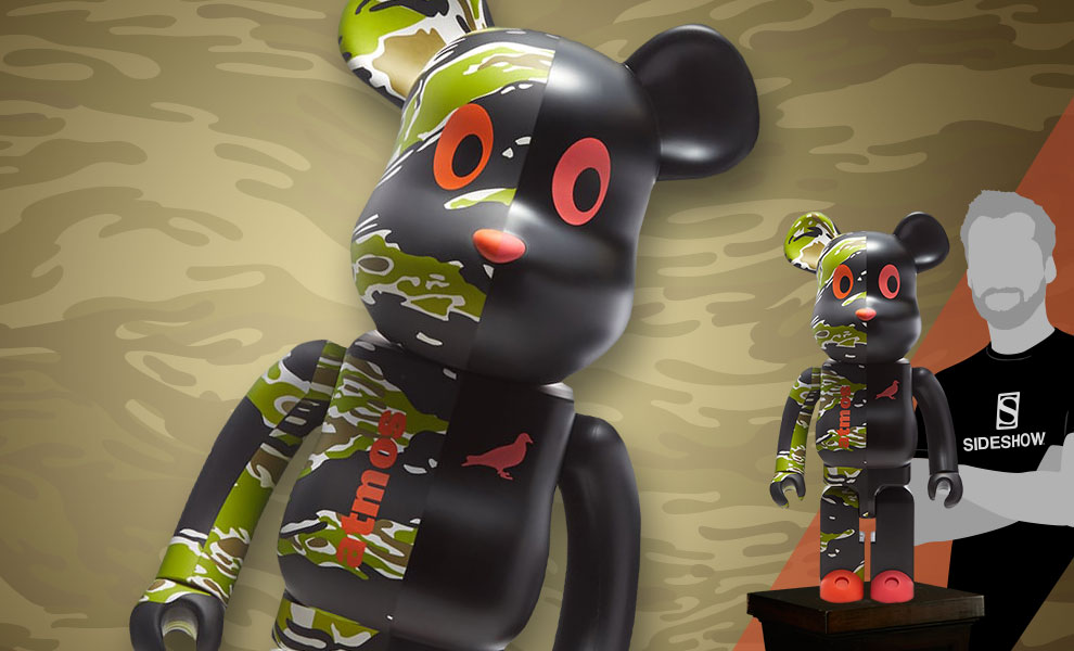 Be@rbrick x atmos x STAPLE #2 1000% Atmos Figure