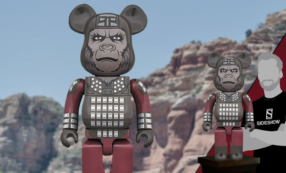 Bearbrick General Ursus 1000 Planet of the Apes Figure