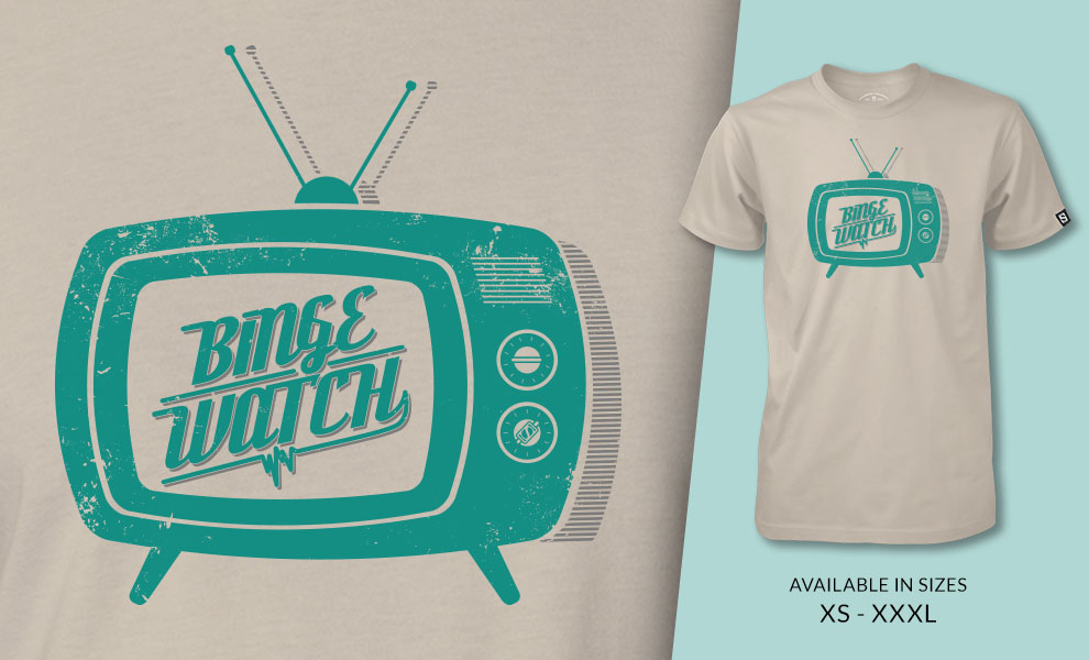 Binge Watch T-Shirt Sideshow Collectibles Apparel