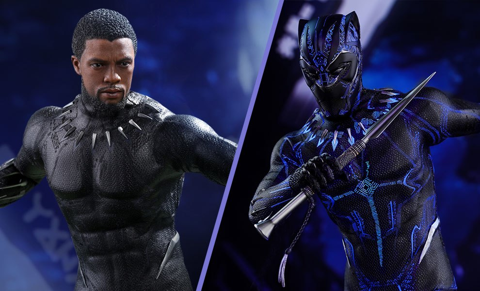 Black Panther Marvel Sixth Scale Figure