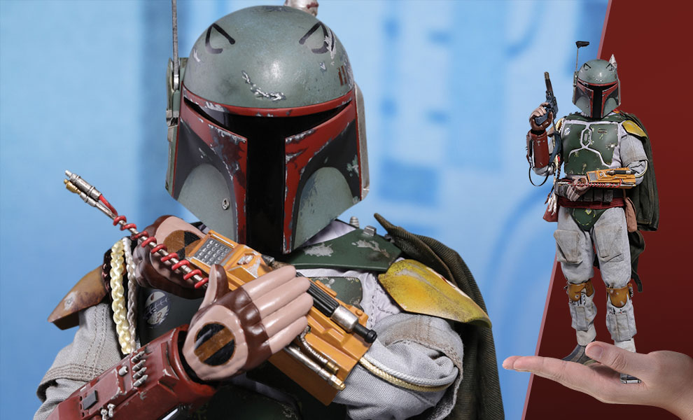 Boba Fett Deluxe Version Star Wars Sixth Scale Figure