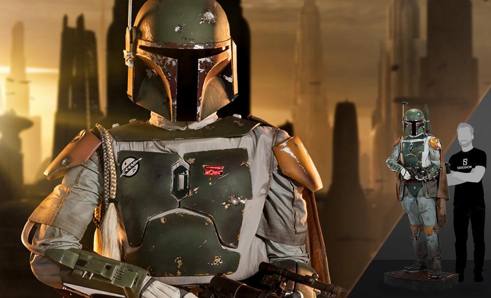 Boba Fett Star Wars Life-Size Figure