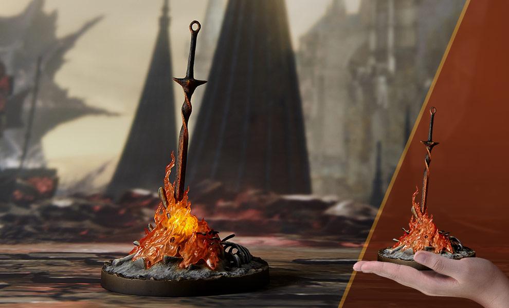 Bonfire Light-Up Dark Souls Statue