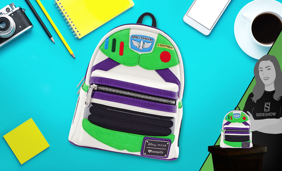 Buzz Lightyear Character Mini Backpack Disney Apparel