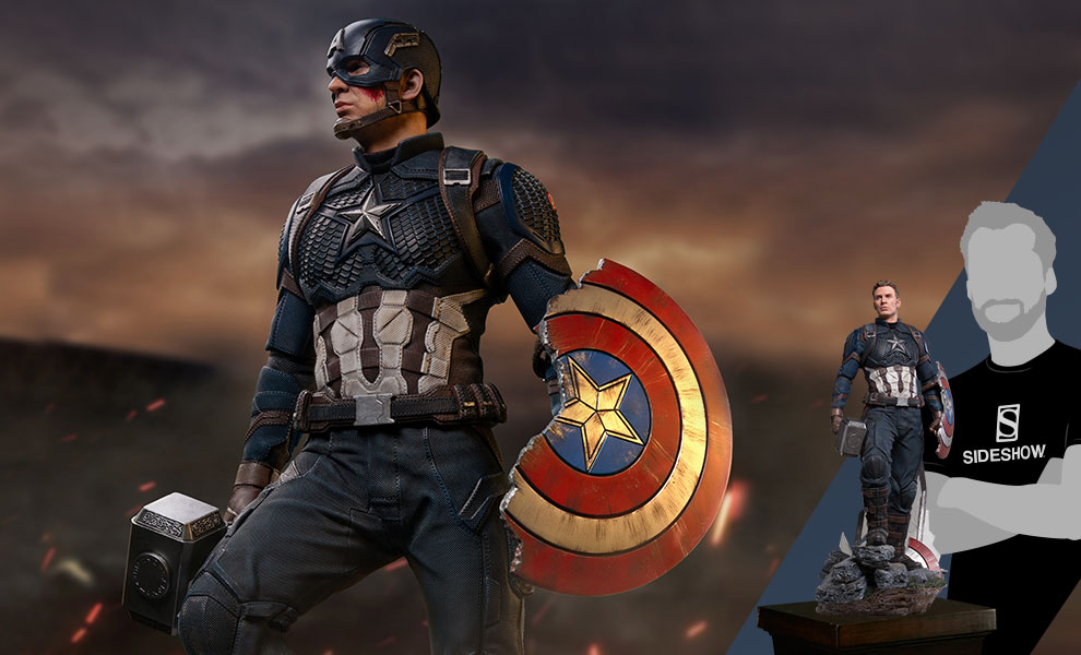 Captain America (Deluxe) Marvel Statue