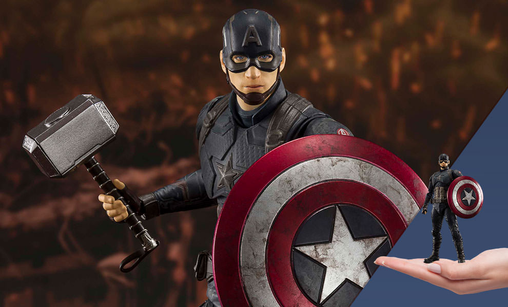 Captain America (Final Battle Version) Marvel Collectible Figure