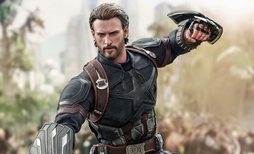 Captain America Movie Promo Edition Marvel Sixth Scale Figure