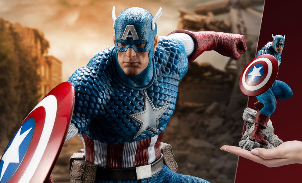 Captain America Marvel Statue - Marvel Premier