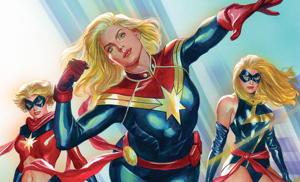 Captain Marvel #1 Marvel Art Print