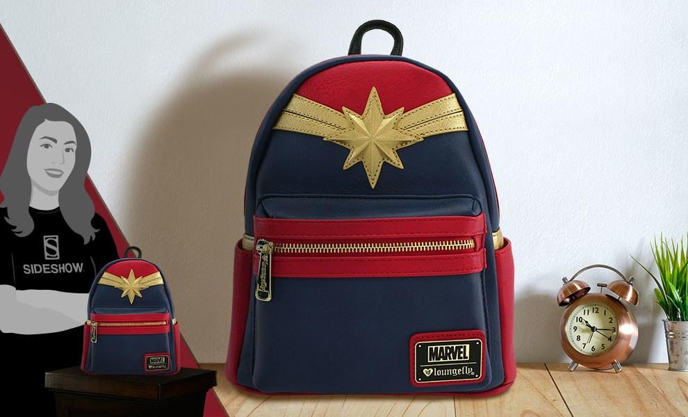 Captain Marvel Cosplay Mini Backpack Marvel Apparel