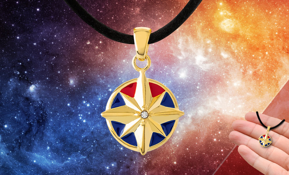 Captain Marvel Star Choker Marvel Jewelry