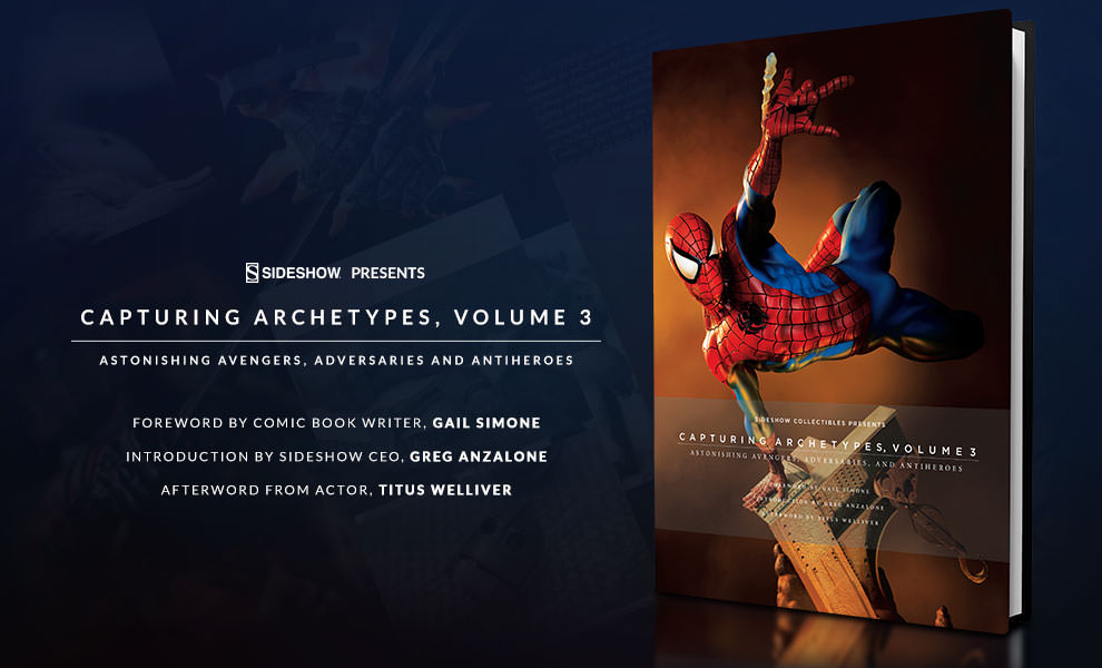 Capturing Archetypes Volume 3 Sideshow Collectibles Book