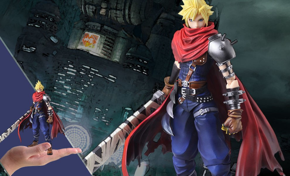 Cloud Strife Another Form Variant Final Fantasy Collectible Figure