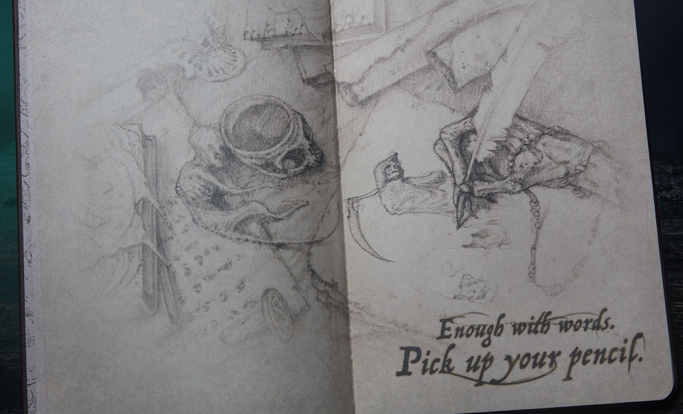 Court of the Dead Deluxe Hardcover Sketchbook Court of the Dead Book