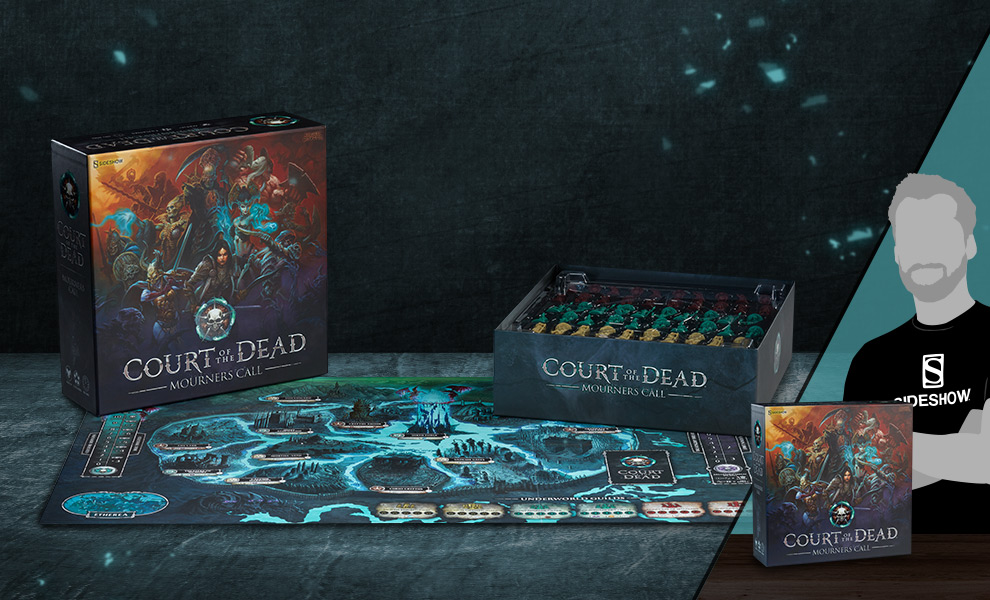 Court of the Dead Mourner's Call Game Court of the Dead Board Game