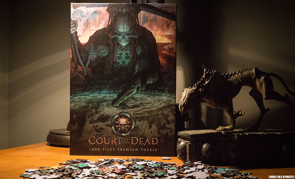 Court of the Dead The Dark Shepherds Reflection Court of the Dead Puzzle