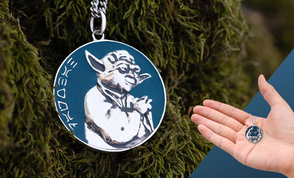Dagobah Planetary Medallion Star Wars Jewelry